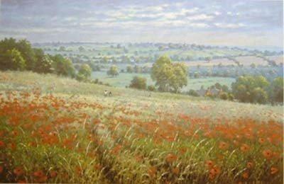 Among the Poppies ~ James Preston