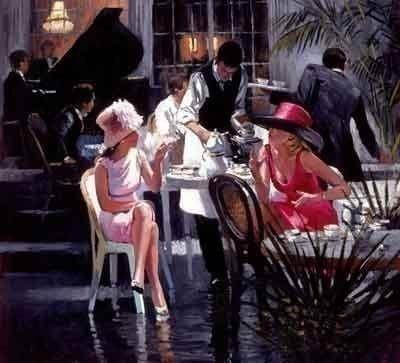 Cafe Royale ~ Sherree Valentine Daines