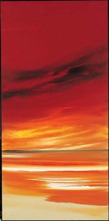 Crimson contours ii ~ Jonathan Shaw