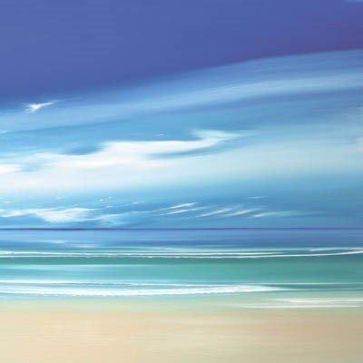 Infinite blue iii boxed canvas ~ Jonathan Shaw