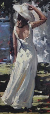 Lady in White ~ Sherree Valentine Daines