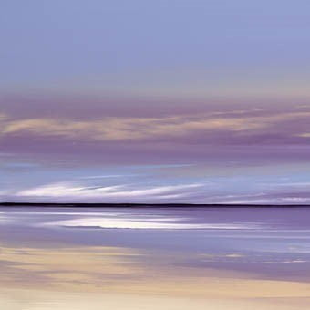 Lilac Contours I ~ Jonathan Shaw