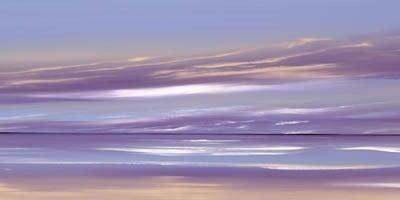 Lilac Contours II ~ Jonathan Shaw