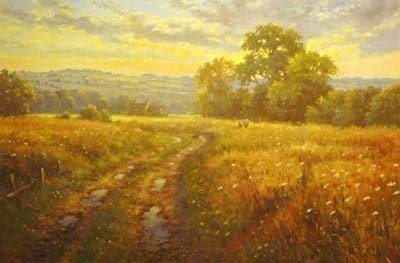 Meadow path ~ James Preston