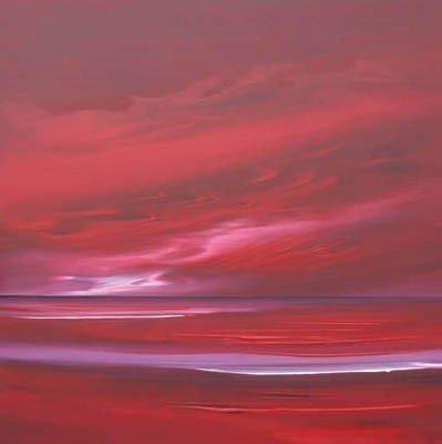 Ruby Skies I ~ Jonathan Shaw