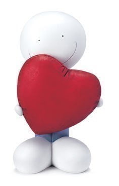 We Found Love Cold Cast porcelain Sculpture ~ Doug Hyde