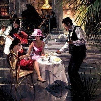 Cafe de paris ~ Sherree Valentine Daines