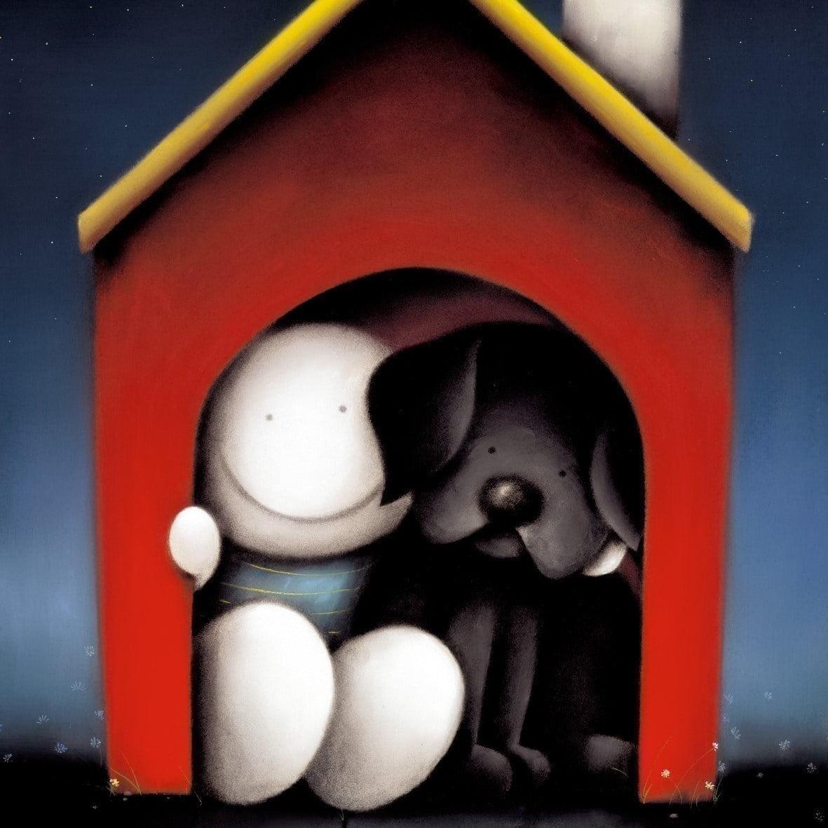 In The Dog House Original Silkscreen ~ Doug Hyde