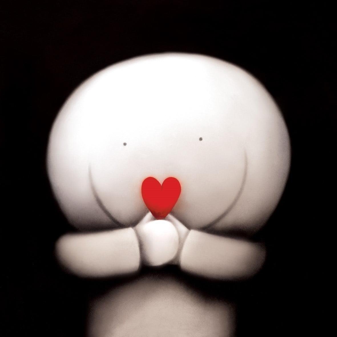 Declaring my love box canvas ~ Doug Hyde