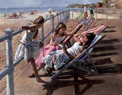 Secret Memories I on Canvas ~ Sherree Valentine Daines