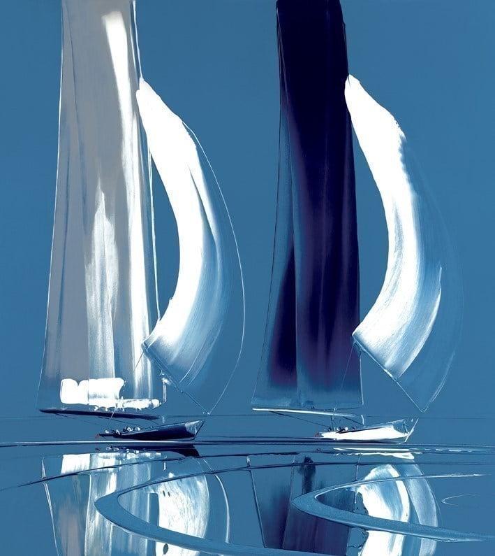 Symphony of sails i (arctic) on canvas ~ Duncan MacGregor