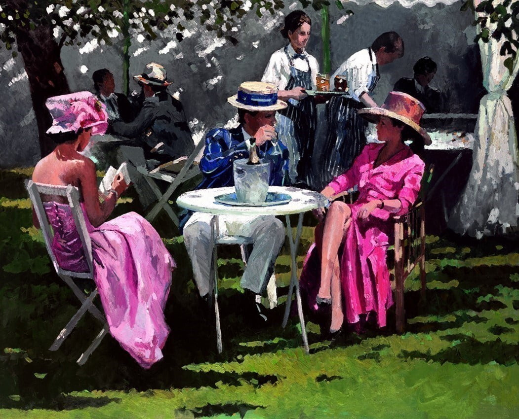 Regatta Afternoon on Canvas ~ Sherree Valentine Daines