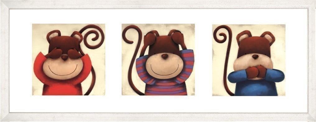 3 Wise Monkeys ~ Doug Hyde
