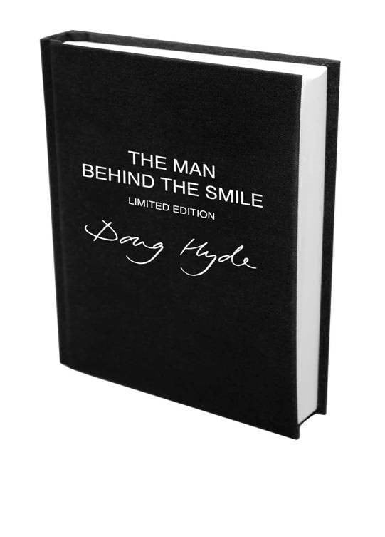 'man behind the smile' book - deluxe version ~ Doug Hyde