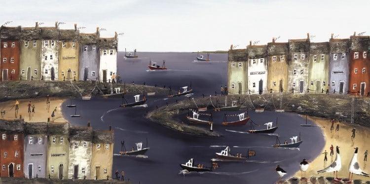 A Fishermans Tale (on board) ~ Rebecca Lardner
