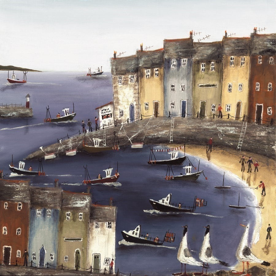 Anchors Away I ~ Rebecca Lardner