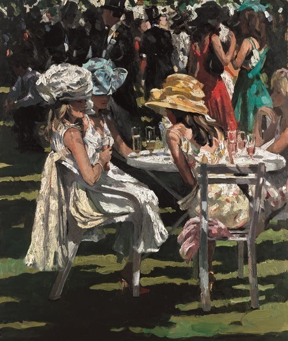 Champagne moment ~ Sherree Valentine Daines