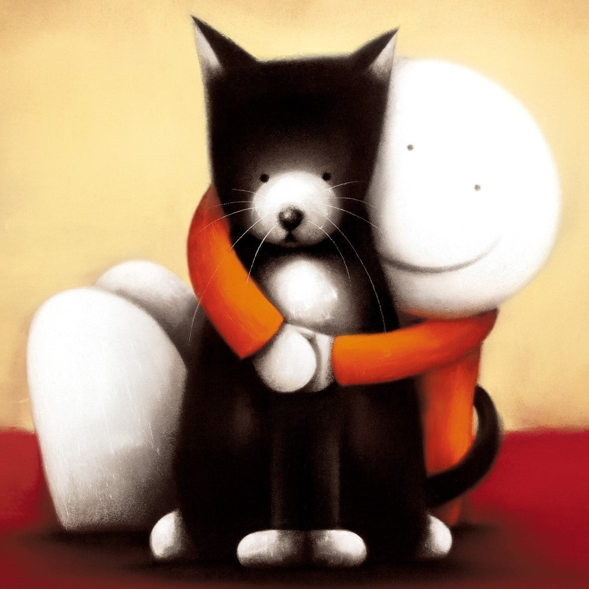 I love you (Box Canvas) ~ Doug Hyde