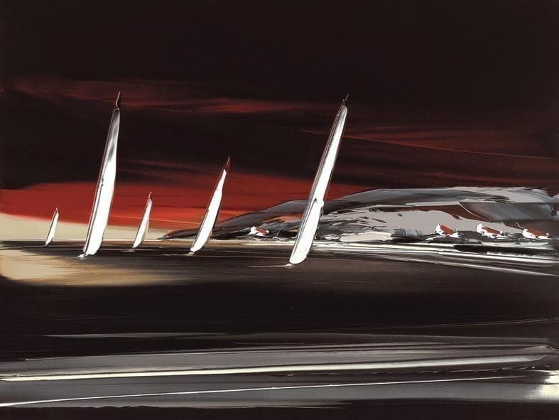 Midnight sails i ~ Duncan MacGregor