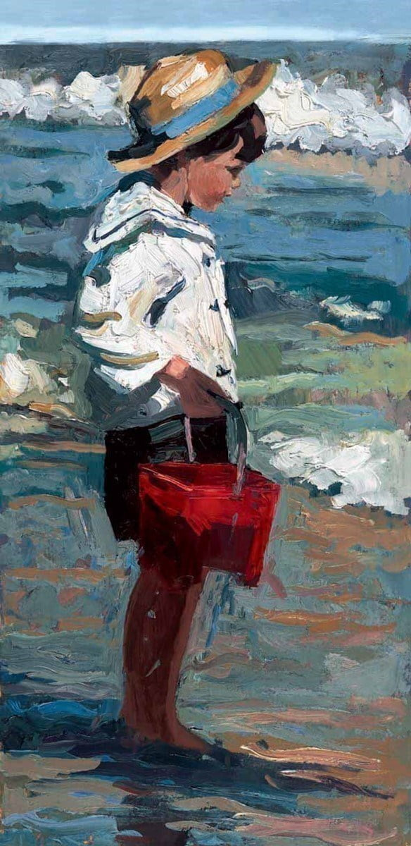 Beach combing ~ Sherree Valentine Daines