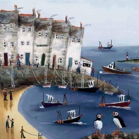 Coastal Life II ~ Rebecca Lardner