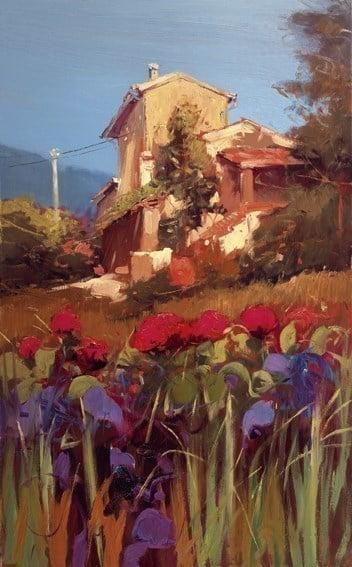 Vista Toscana II ~ Bruno Tinucci