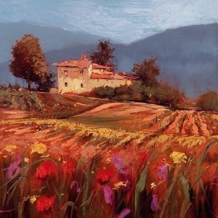 Vista toscana iii ~ Bruno Tinucci