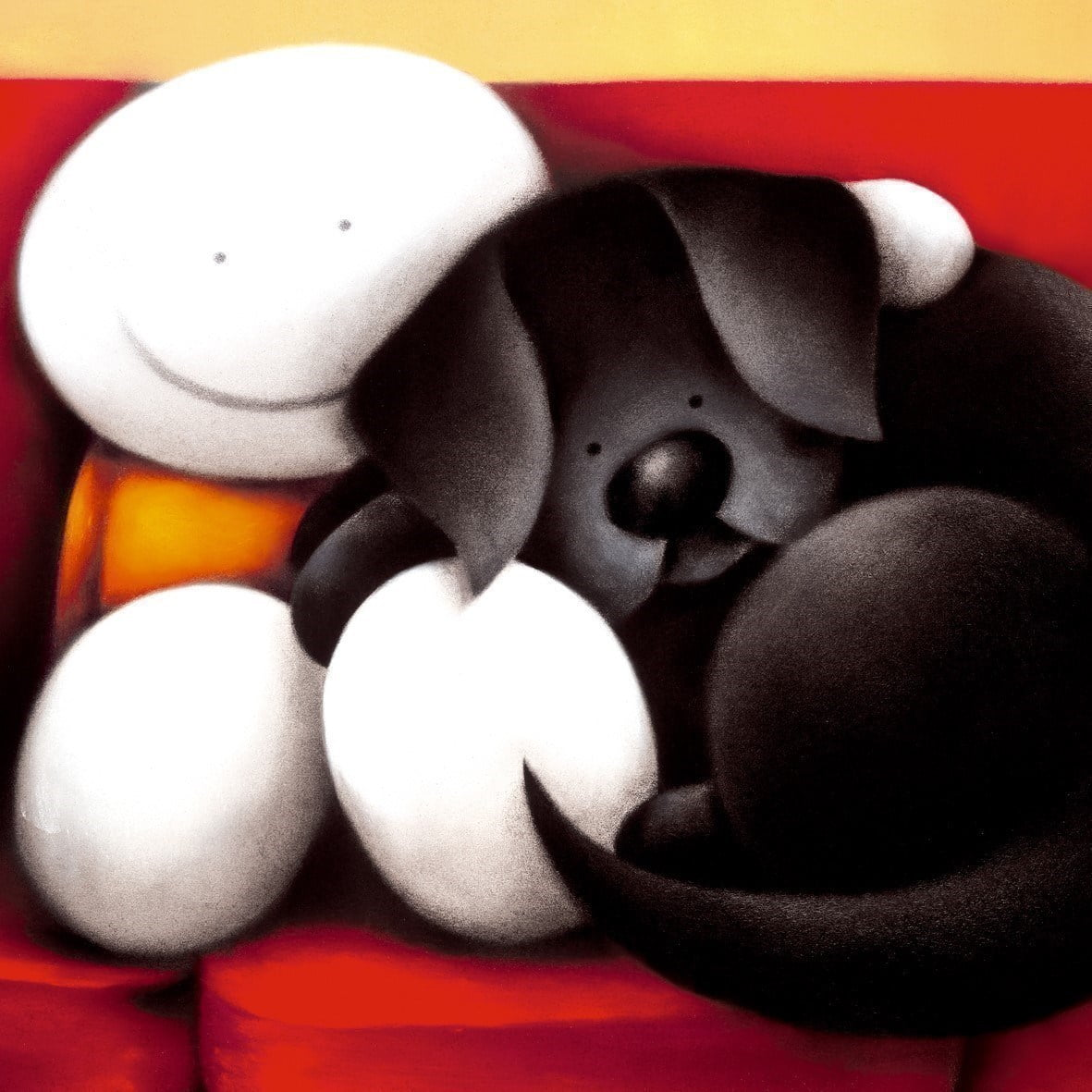 A great night in (canvas) ~ Doug Hyde