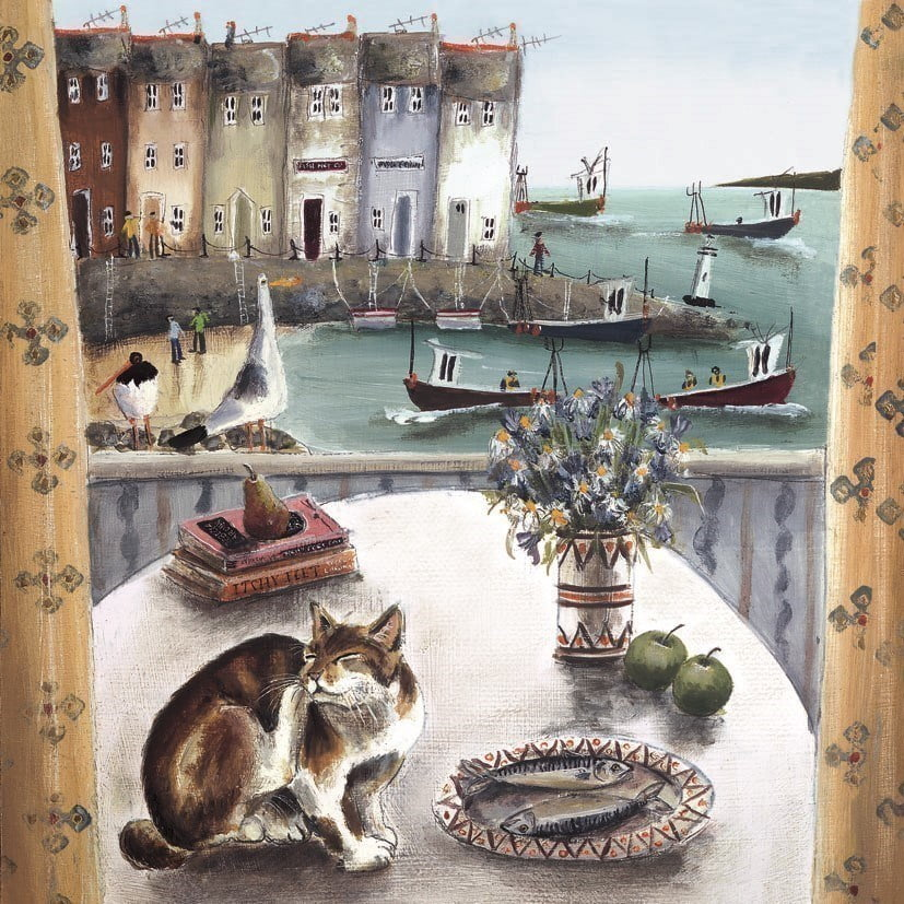 A room with a view (canvas) ~ Rebecca Lardner