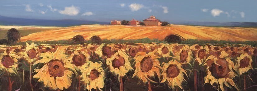 Vista del Paese I ~ Bruno Tinucci