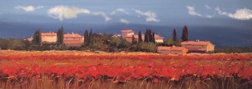 Vista del paese ii ~ Bruno Tinucci