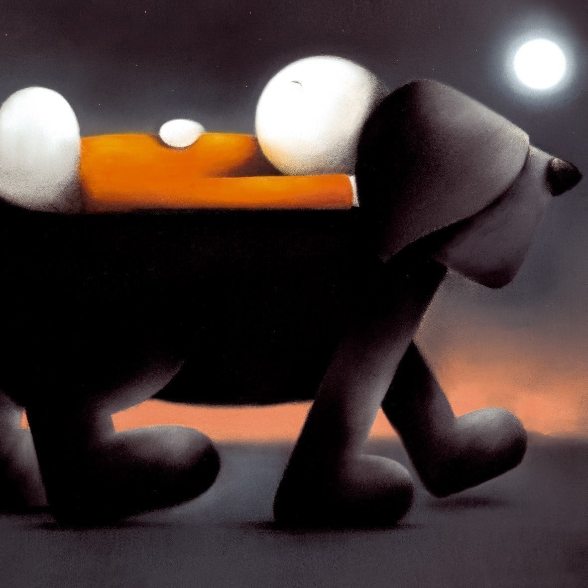 Sleepwalking (canvas) ~ Doug Hyde
