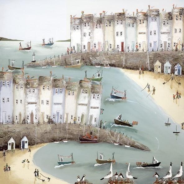 Coastal manoeuvres i (canvas) ~ Rebecca Lardner
