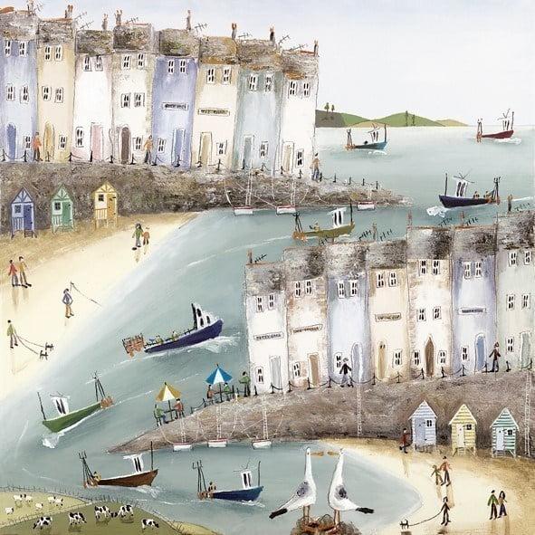 Coastal manoeuvres ii (canvas) ~ Rebecca Lardner