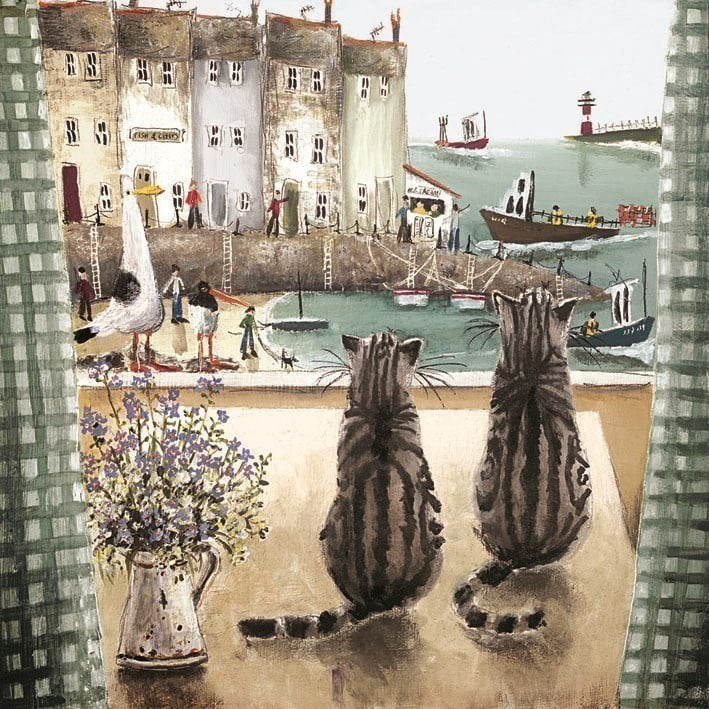 The lookouts (canvas) ~ Rebecca Lardner