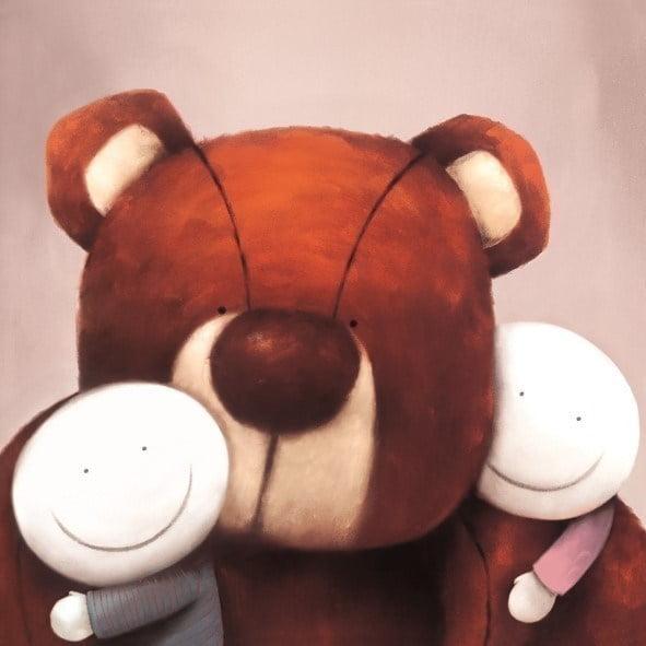 Group hug ~ Doug Hyde
