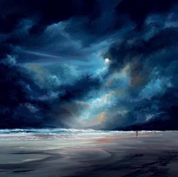 Moonlit shores ~ Philip Gray