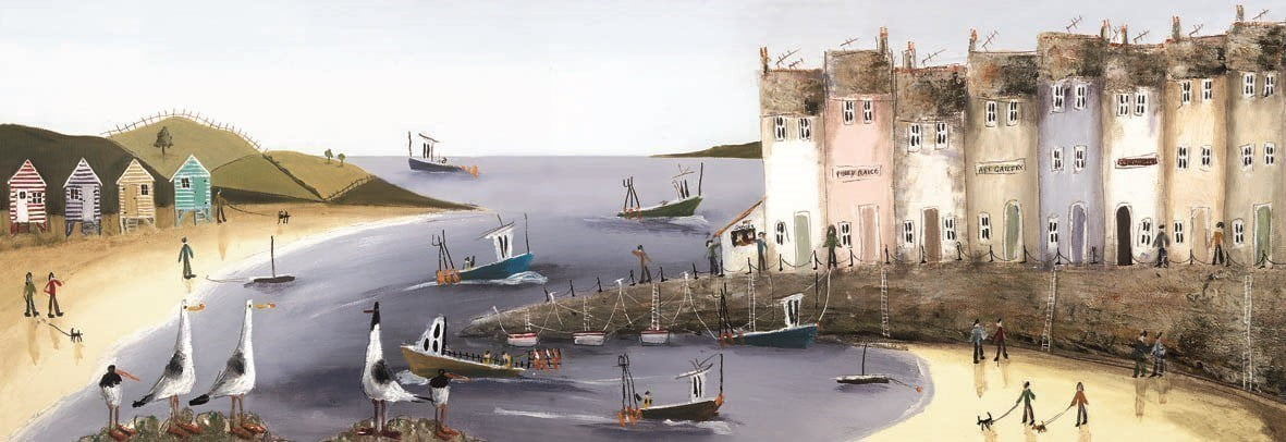 Safe harbour (canvas) ~ Rebecca Lardner