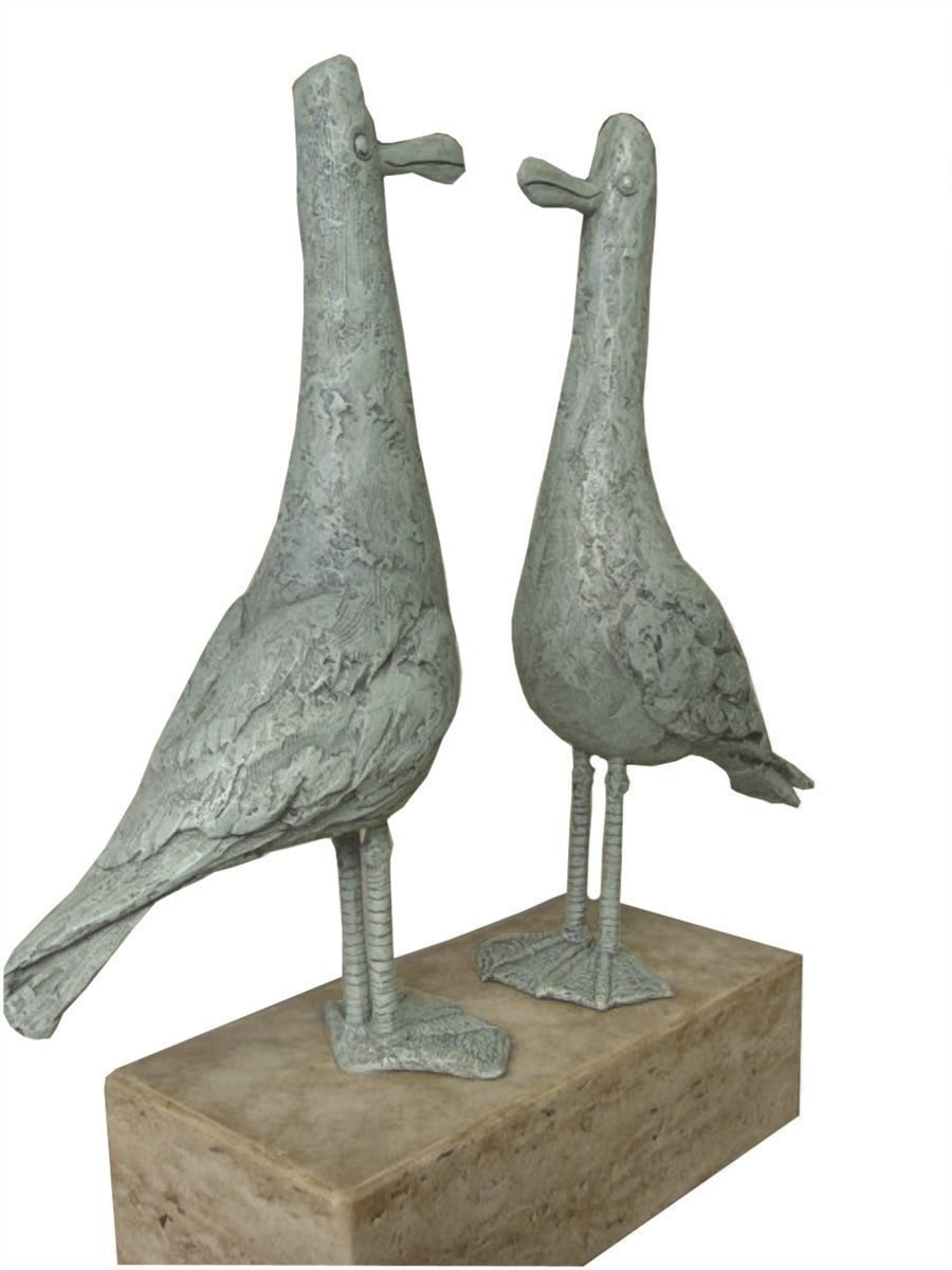 Early birds - sculpture ~ Rebecca Lardner