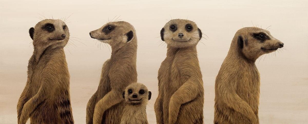 Family portrait ~ Jonathan Truss