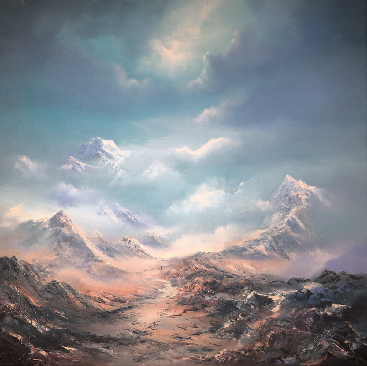 The top of the world (canvas) ~ Philip Gray