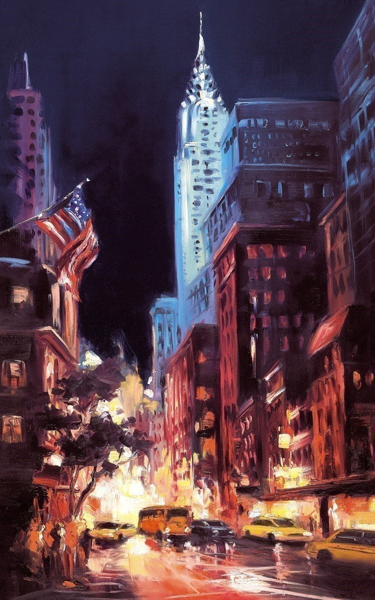 New York Nights I ~ Csilla Orban