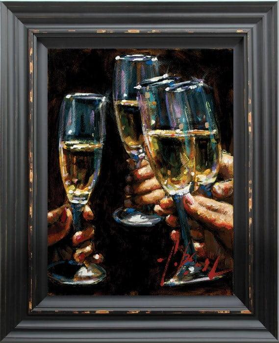 Brindis con champagne ~ Fabian Perez