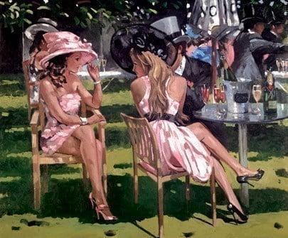 Champagne summer ~ Sherree Valentine Daines