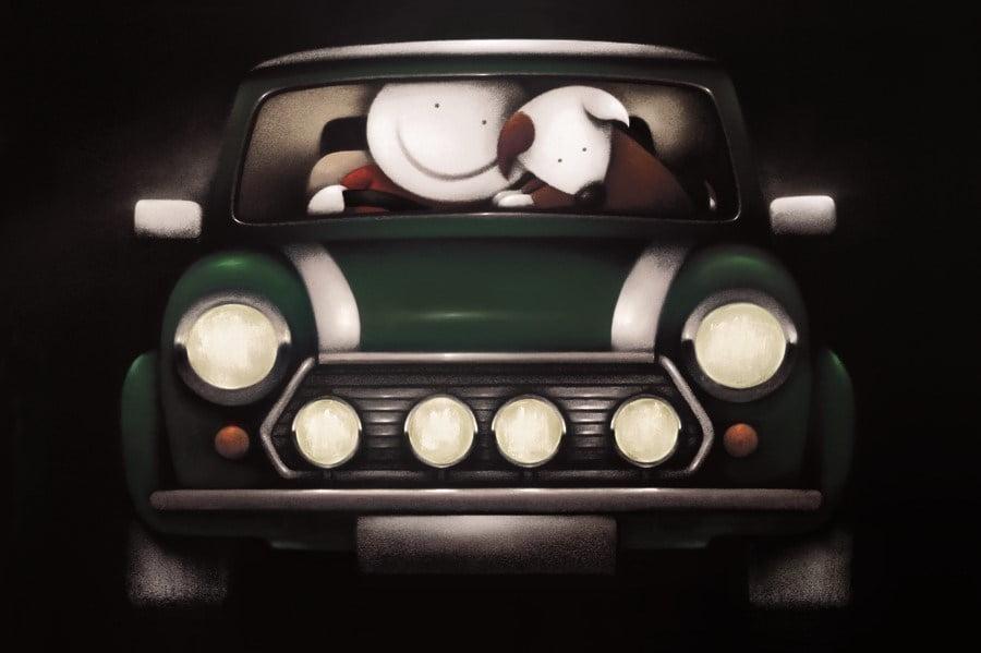 Go faster stripes ~ Doug Hyde