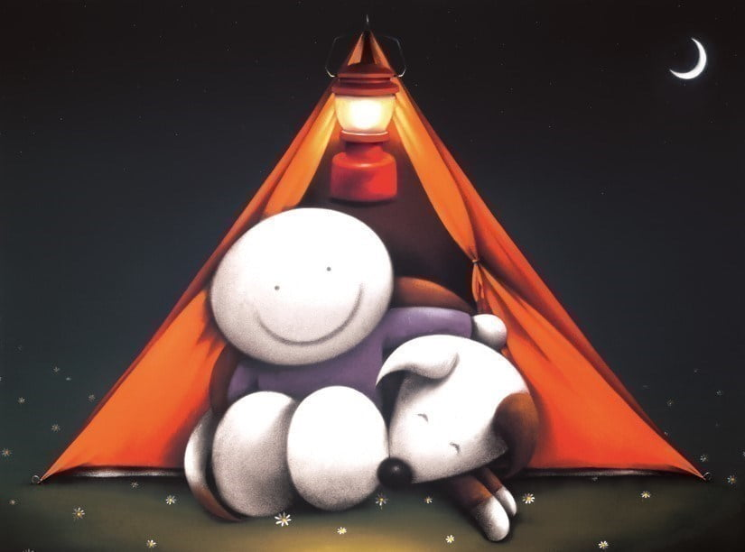 Happy campers ~ Doug Hyde