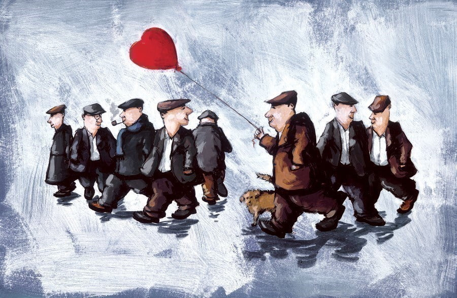 Love is all around ~ George Somerville
