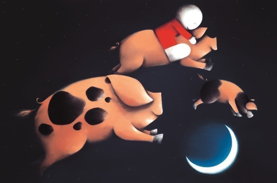 Pigs might fly ~ Doug Hyde