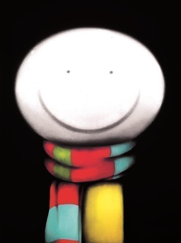 Scarf face ~ Doug Hyde