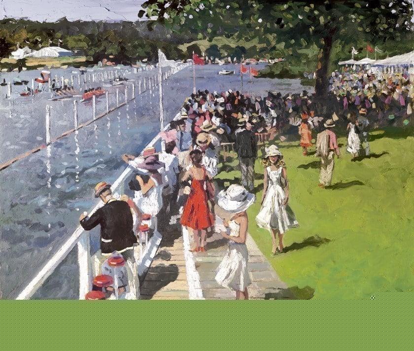 Henley regatta ~ Sherree Valentine Daines